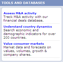 MarketLine-Database-Access