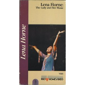 Lena Horne Video VHS The Lady and her Music
