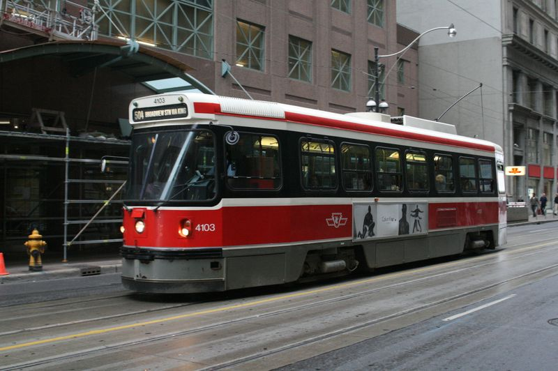 ... what would be the quickest way of getting somewhere by TTC