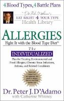 Allergies - FightThemWithTheBloodTypeDiet