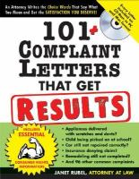 101 Complaint Letters That Get Results