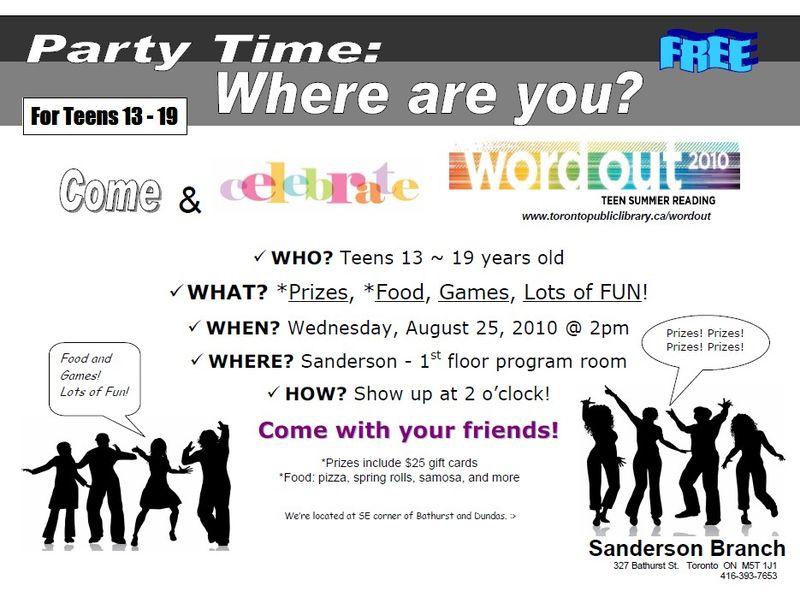 SA party flyer
