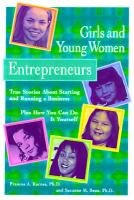Girls and Young Women Entrepreneurs