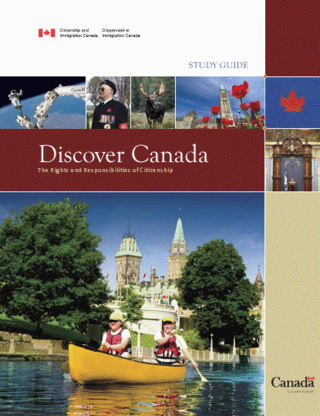 Discover Canada book cover