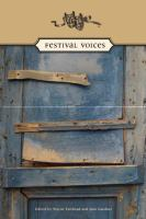 Festival voices plays written by students and teachers for the Sears Ontario Drama Festival
