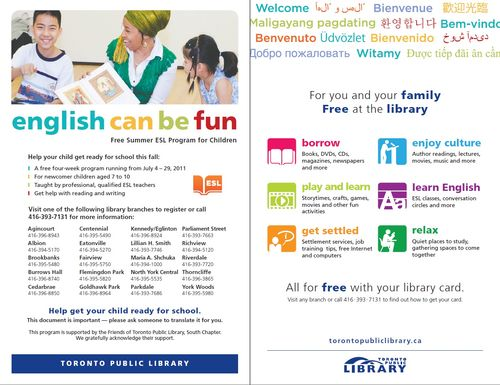 English Can Be Fun! Branch Locations