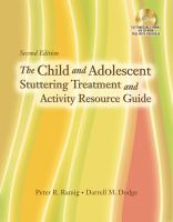 The Child and Adolescent Stuttering Treatment