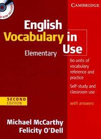 Cambridge English Vocabulary in Use Elementary
