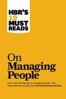 Hbr managing people
