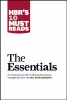 Hbr the essentials