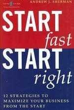 Start fast start right