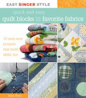 Recycling fabrics as you learn to quilt
