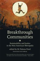 Breakthrough communities