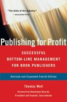 Publishing publish for profit