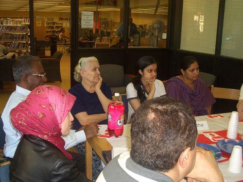 English conversation circle at the Flemingdon Park Library