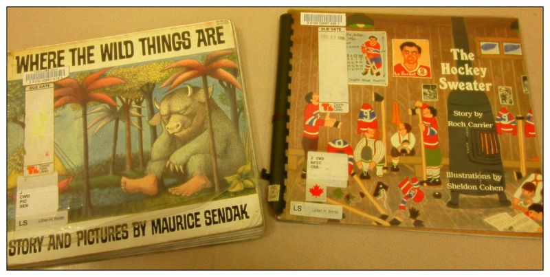Cover of Where the Wild things Are and The Hockey Sweater