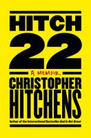 Hitch-22 Christopher Hitchens