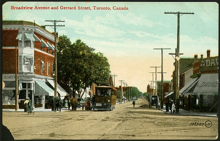 Broadview Ave. and Gerrard St., Riverdale