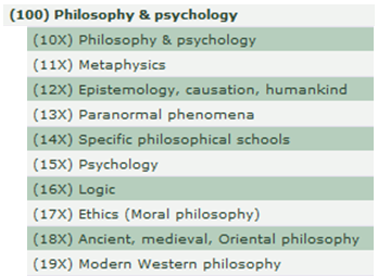 100s-Philosophy & Psychology