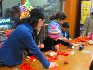 Gerrard/Ashdale Public Library and celebration of Chinese New Year 2012