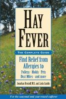 Hay Fever by Jonathan Brostoff