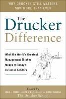 Drucker Difference