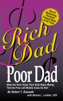 Kids and money rich dad poor