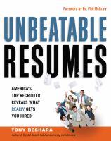 Unbeatable resumes