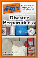 Idiot's Guide to Disaster Preparedness