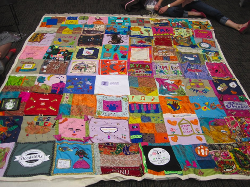 Social Fabric Project at the Gerrard/Ashdale Library