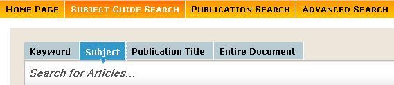 1 CPIQ home page tab menu