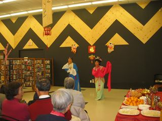Bridlewood Public Library and their celebration of Chinese New Year 2012