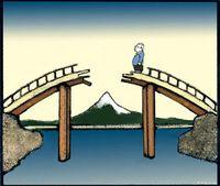 Gap and bridge