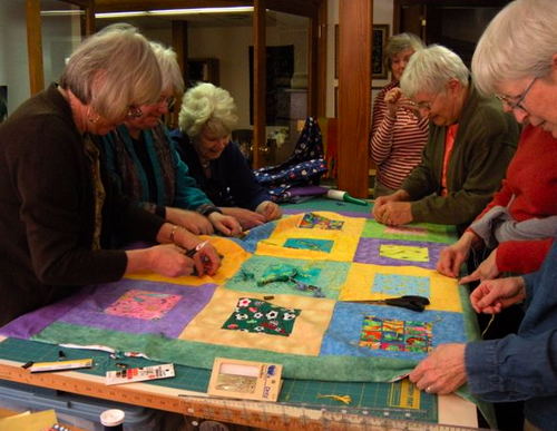 Creating Community Through Quilt Making New To Canada