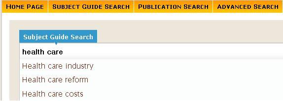 2 CPIQ sub guided search page tab menu