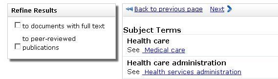 3 CPIQ sub search results