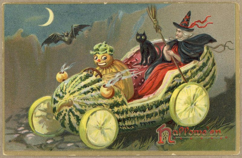 Vintage Halloween Postcards At Toronto Public Library