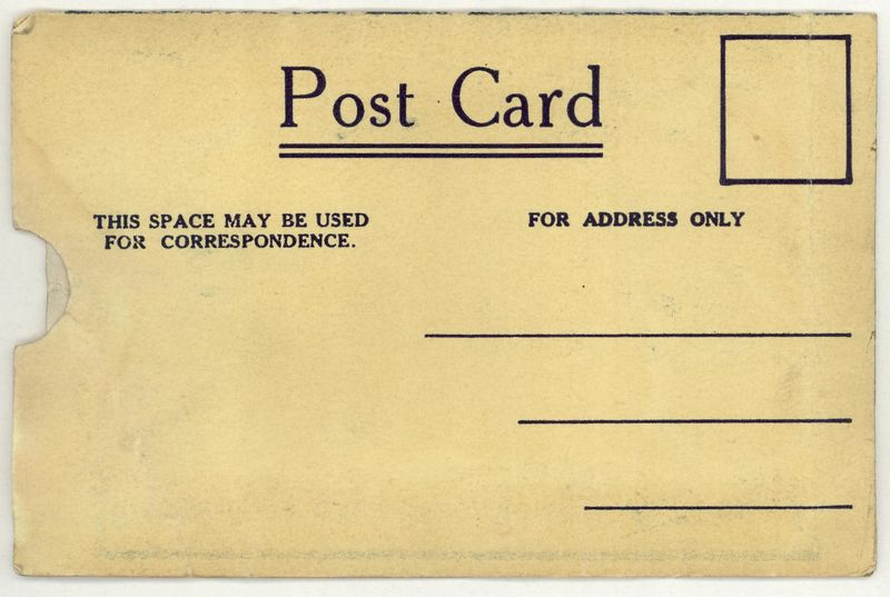 Zzz 1912 postcard b