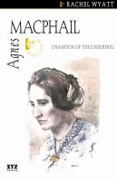Agnes Macphail champion of the underdog