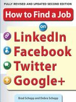 How to Find a Job on LinkedIn Facebook Twitter and Google+