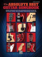 The absolute best guitar songbook. Guitar tab ed