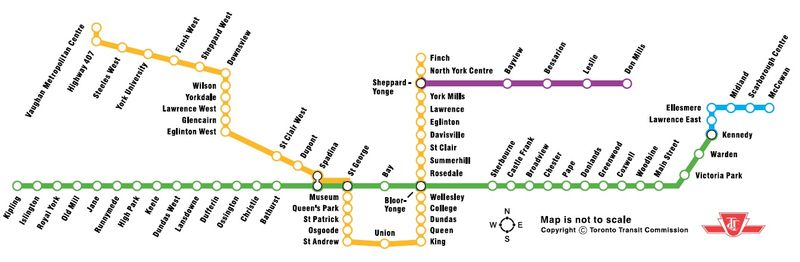 Ttc Subway Map Future.The Future Of The Ttc North York Central Library Blog