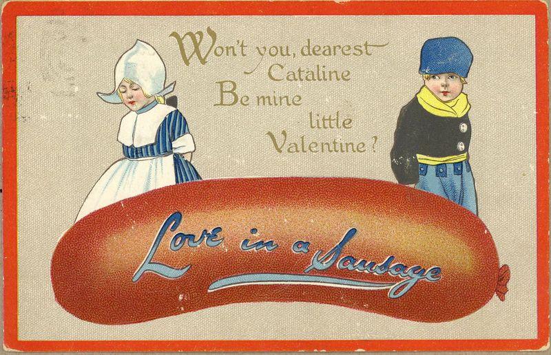 Valentine sausage list b
