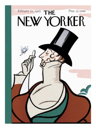 The New Yorker cover February 1925