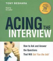 Acing the Interview audio