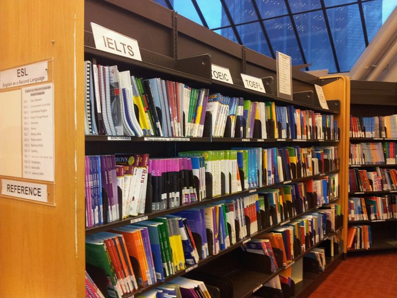ESL collection at Toronto Reference Library