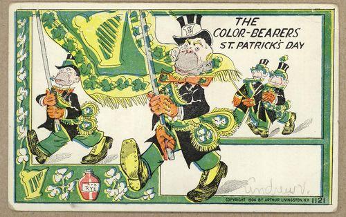 St Patrick's 1906 Livingston flag