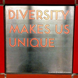 Diversity Makes Us Unique photo by Marc Falardeau
