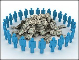 Crowdfunding photo