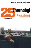 Chernobyl crime without punishment